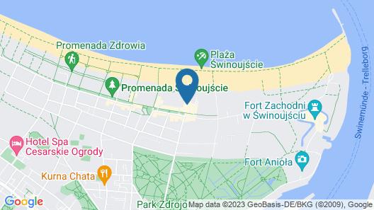 VacationClub - Baltic Park Molo Apartments Map