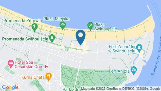 VacationClub BalticPark Plaza Apartments Map