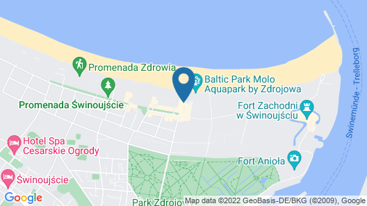 Hilton Swinoujscie Resort and Spa Map