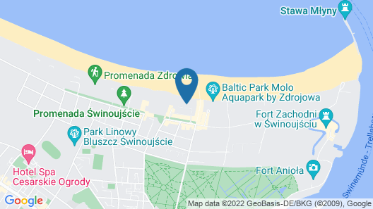 Vacation Club - Baltic Park Fort Map