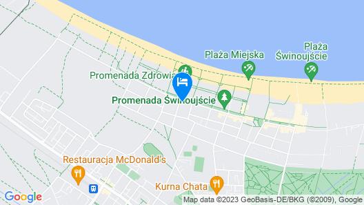 Villa Merry Spa & Wellness Map