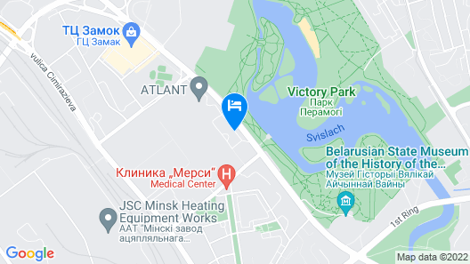 Victoria Hotel and SPA Map