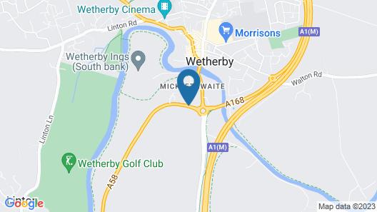 Mercure Wetherby Hotel Map