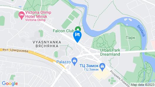 Minsk Marriott Hotel Map
