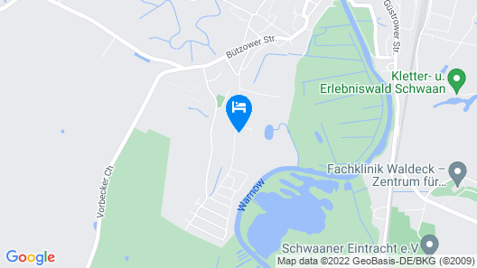 Lovely Apartment in Schwaan With Sauna Map