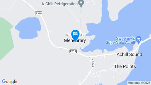 Achill Cottages no.3 Map