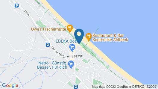 SEETELHOTEL Ahlbecker Hof Map