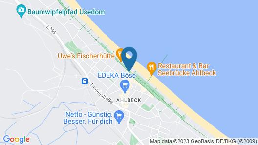 Das Ahlbeck Hotel & Spa Map