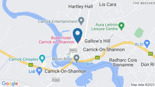 Bush Hotel Map