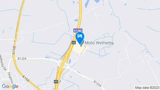 Days Inn by Wyndham Wetherby Map