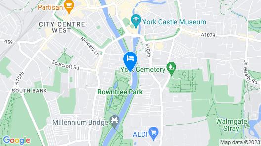 Roomzzz York City Map