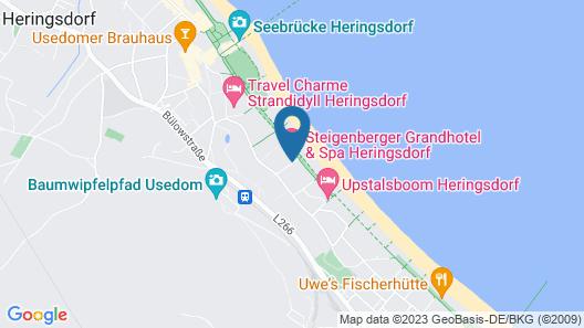 Steigenberger Grandhotel & Spa Heringsdorf Map