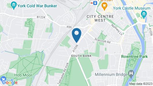 Elmbank Hotel & Lodge Map