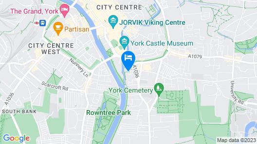 Novotel York Centre Map