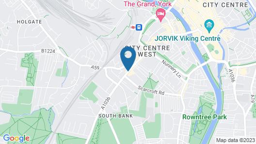Hotel du Vin & Bistro York Map