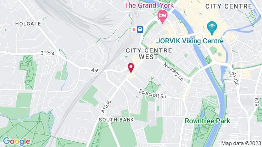 ibis York Centre Map