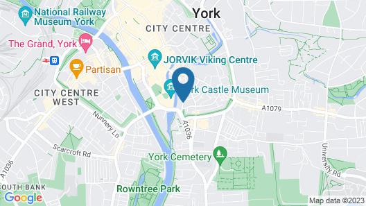 Holiday Inn York City Centre Map