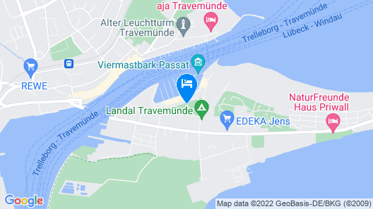 2 Bedroom Accommodation in Travemünde Waterfront Map