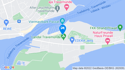 1 Bedroom Accommodation in Travemünde Waterfront Map