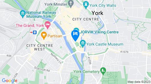 Hilton York Map