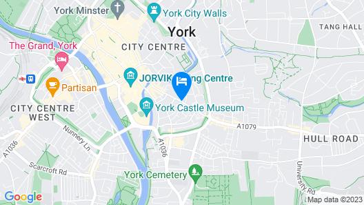 Hotel Indigo York Map