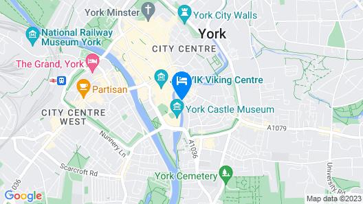 Hampton by Hilton York Piccadilly Map