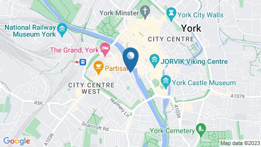 Queens Hotel Map