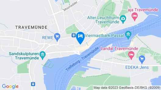 Apartment Traveblick Map
