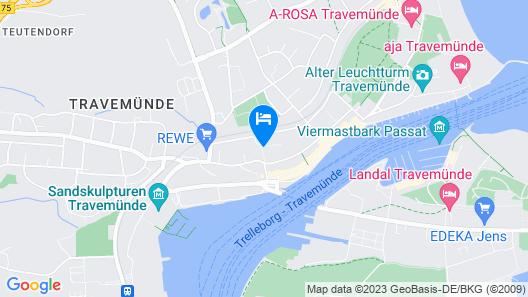 1 Bedroom Accommodation in Travemünde Map