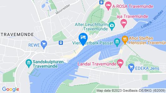 Hotel Deutscher Kaiser Map