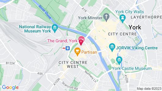 The Grand, York Map