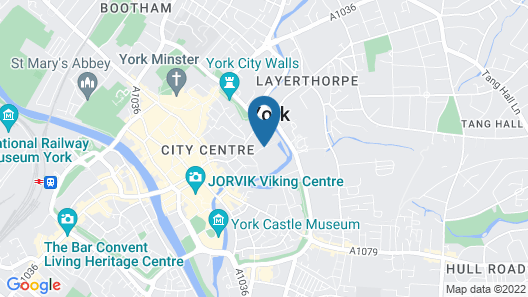 Moxy York Map