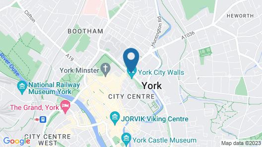 DoubleTree by Hilton York Map