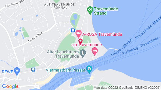A-ROSA Travemünde Map
