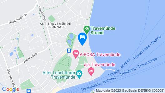 Strandschlösschen Map
