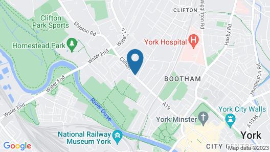 Burton Stone Inn Map
