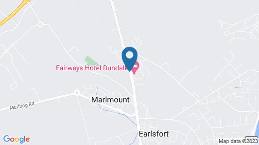 Fairways Hotel Dundalk Map