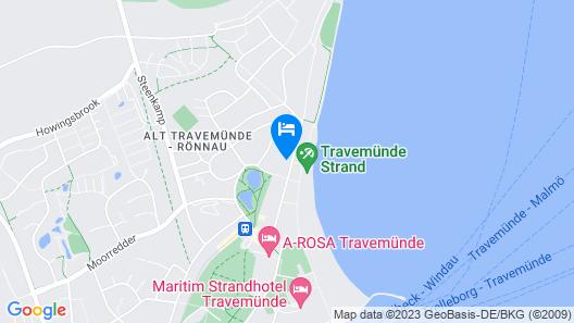 Charming 2 bedroom app. with balcony, near the beach! Map