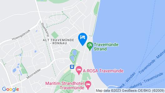 Charmantes 2-zimmer-app. mit Balkon in Travemünde, Strandnähe! Map