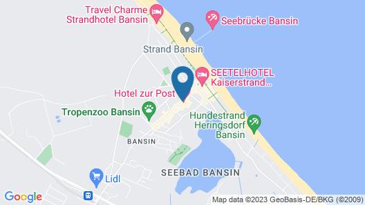 Hotel zur Post – ein Rovell Hotel Map