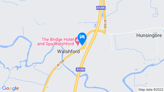 The Bridge Hotel and Spa Map