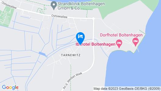 Cozy Apartment in Boltenhagen With Garden Map