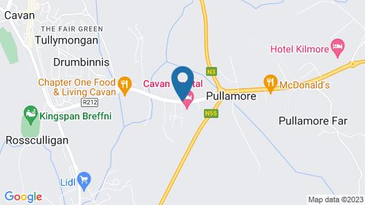 Cavan Crystal Hotel Map