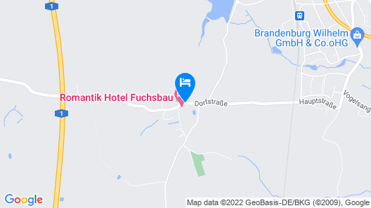 Romantik Hotel Fuchsbau Map