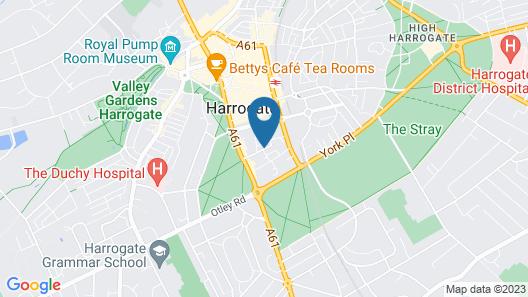 Travelodge Harrogate West Park Map