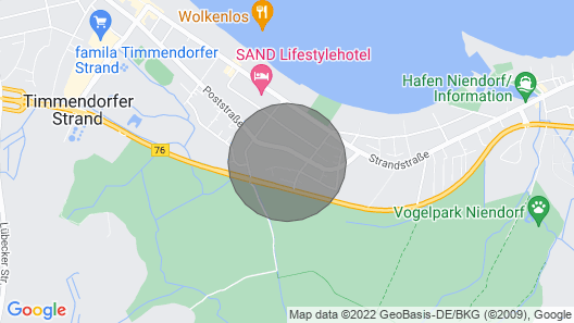 Near the Beach - Bright - Spacious - Family Friendly - Fewo Finkenstraße Map