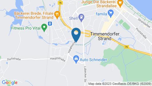 Stilvoll dem Urlaub Entgegen - App. 35 Ostseehafen Map