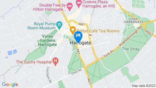 Hotel du Vin & Bistro Harrogate Map