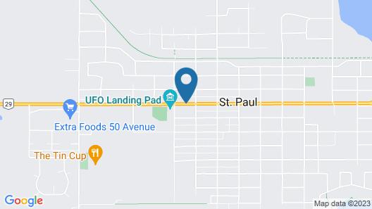 St. Paul Lodge Map