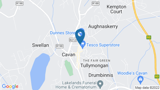 Farnham Arms Hotel Map